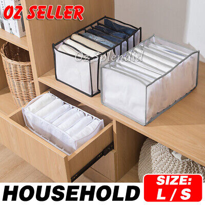 AU8.95 • Buy 5Pcs Travel Organiser Pouches Storage Bag Packing Cubes Clothes Suitcase Luggage