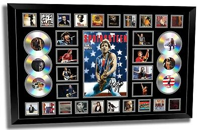 AU189.99 • Buy Bruce Springsteen Signed Limited Edition Framed Memorabilia