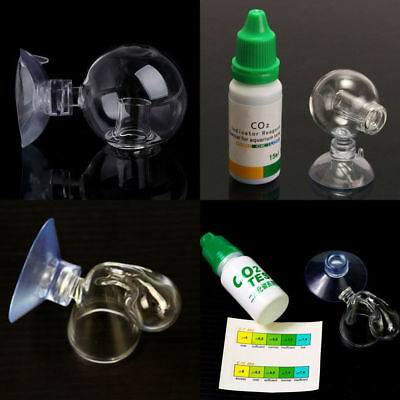 $4.66 • Buy Aquarium Carbon Dioxide CO2 Monitor Glass Drop Ball Checker Tester PH Indicator