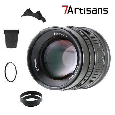 $ CDN146.15 • Buy 7artisans 55MM F1.4 MANUAL Fixed LENS For Sony E Mount A7, A7II, A7R,nex,A7iii