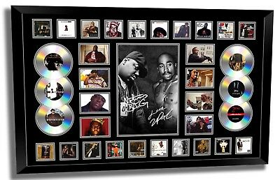 AU189.99 • Buy The Notorious Big Biggie Smalls & Tupac 2 Pac Signed Limited Framed Memorabilia