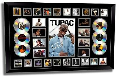 AU189.99 • Buy Tupac 2pac Signed Limited Edition Framed Memorabilia