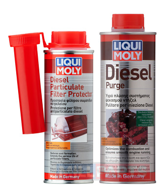 Liqui Moly Diesel Purge Complete Treatment + Particulate Filter DPF Cleaner Set • 14.95£