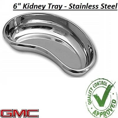 Professional Surgical KIDNEY TRAY DISH BASIN Stainless Steel - 6  KIDNEY TRAY • 3.65£