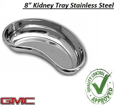 Professional Surgical KIDNEY TRAY DISH BASIN Stainless Steel - 8  KIDNEY TRAY • 5.99£