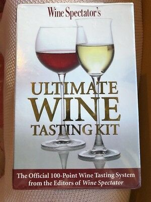 Wine Spectators Ultimate Wine Tasting Kit • 40.95$
