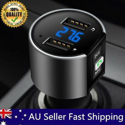 AU20.99 • Buy Car FM Transmitter Handsfree Wireless Bluetooth Kit Radio MP3 Player USB Charger