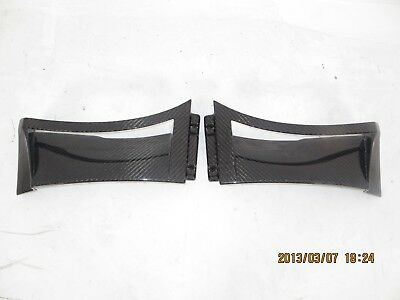 $ CDN688.34 • Buy Carbon Fiber Front Small Fender Scoops Vents Only Fit For Lotus Evora S 350 GT4