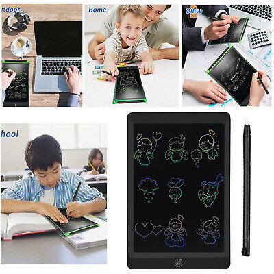 Electronic Digital LCD Writing Drawing Tablet Pad Graphic EWriter Boards Notepad • 11.98£