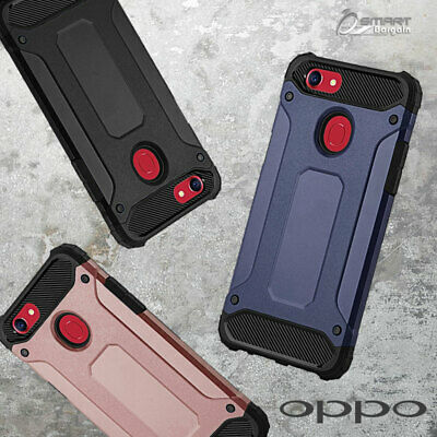 AU6.59 • Buy Tough Armor Heavy Duty Hybrid ShockProof Case Cover For OPPO A73 / Oppo R15 Pro