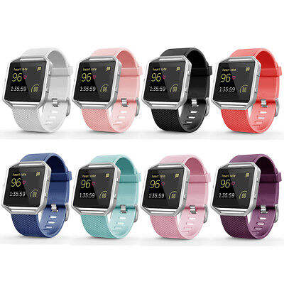 $ CDN3.57 • Buy Replacement Silicone Rubber Band Strap Wristband Bracelet For Fitbit Blaze #43