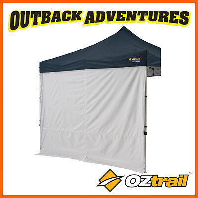 AU34.90 • Buy 1 X OZTRAIL GAZEBO SOLID SIDE WALL 3.0 M WITH CENTRE ZIP NEW MODEL