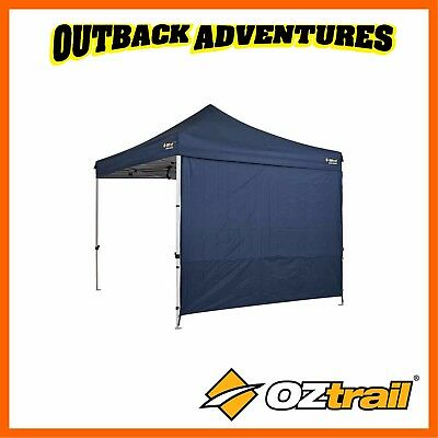 AU47.90 • Buy Oztrail Heavy Duty Blue 3m Deluxe Gazebo Solid Side Wall Kit Blue New Model