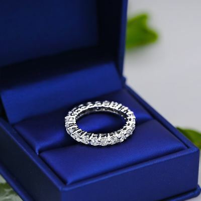 $2750 • Buy Diamond Eternity Band With Total 2.50ct Of Round Cut Diamonds