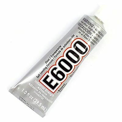 Industrial Strength E6000 Clear Glue - 29.5ml/1oz - Includes Nozzle • 20.99£