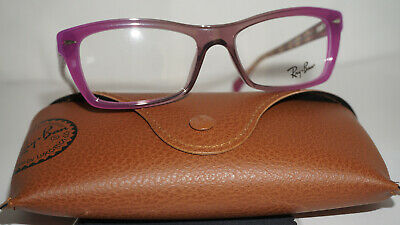 402c2a9228 RAY BAN Frame RX Eyeglasses New Purple Clear RX5255 5489 51 16 135 • 71.24