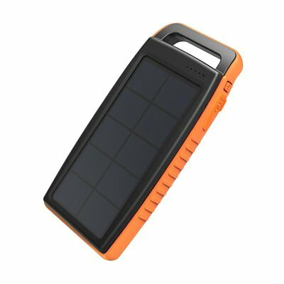 AU46.52 • Buy Solar Charger RAVPower 15000mAh Outdoor Portable Charger Solar Power Bank Dual
