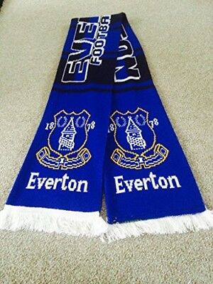 Everton   Football Club Supporters Scarf.. The Toffees .free Post • 12£