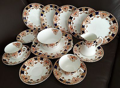 £175 • Buy 15 Pieces Of Rare Antique Thomas Forrester & Sons  Darby  Phoenix China Ware