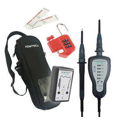Kewtech KEWISO4 Isolation Kit With KT1720 Voltage Tester Proving Unit And More • 139£