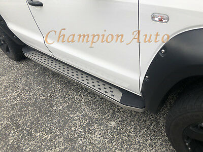 AU1111 • Buy SsangYong Musso / Musso XLV Dual Double Cab 4 DOORS Side Steps 2019 2020+(CMP16)