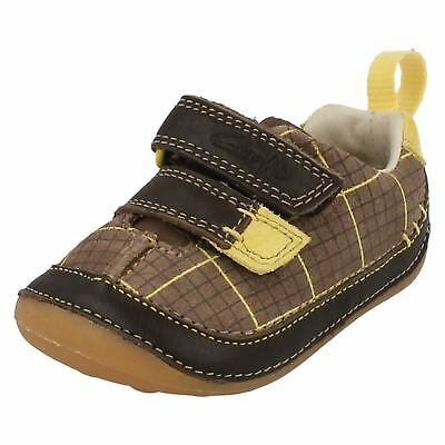 Boys Clarks Cruiser First Shoes 'Cruiser Lad' • 15£
