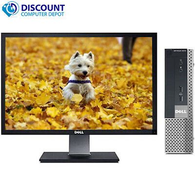 $ CDN175.27 • Buy Dell Desktop 9010 USFF Intel I5 4GB 320GB Windows 10 Home 19  LCD Key-Mice Wifi