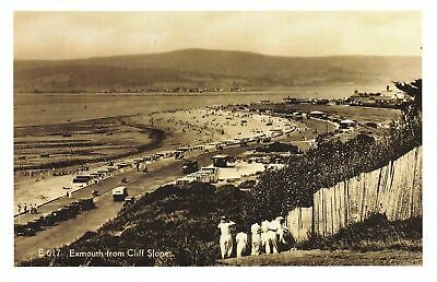 £1.99 • Buy Nostalgia Postcard Exmouth From Cliff Slopes, Devon C1920 Reproduction Card NS45