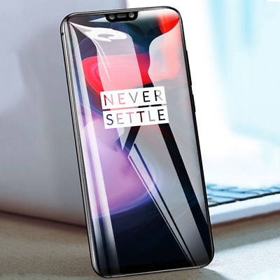 AU5.99 • Buy 5D Full Coverage Curved Edge To 9H Tempered Screen Protector For OnePlus 5