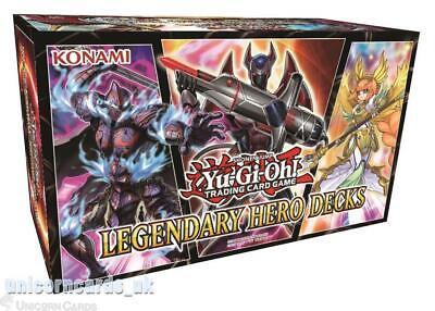 YuGiOh! Legendary Hero Decks :: 3 Unique 50-Cards Decks :: Brand New And Sealed! • 27.39£