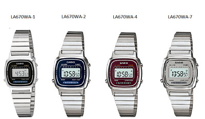 $ CDN25.36 • Buy Casio Women's LA670WA Series Watch LA670WA-1, LA670WA-2, LA670WA-4 & LA670WA-7