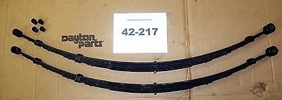 $240 • Buy Rear Leaf Springs Ford Pass. Car 1957-59 W/ Retractable