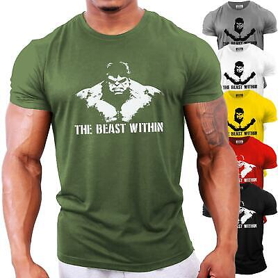 Incredible Hulk Bodybuilding T-Shirt | Gym Workout Training Motivation Top • 13.99£