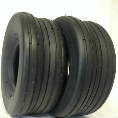 £31.86 • Buy TWO New 13X6.50-6 Lawn Tractor Smooth Rib Tires 4 Ply Smooth Ribbed FREE SHIP