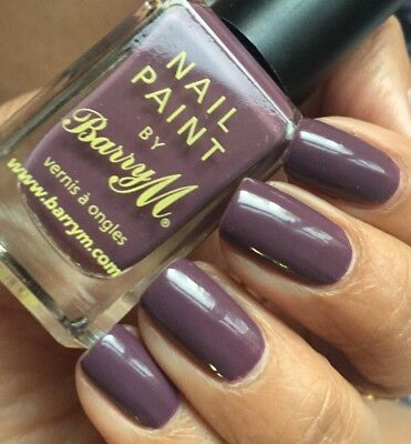 £3.95 • Buy Barry M Nail Polish Paint In Vintage Violet - 10ml