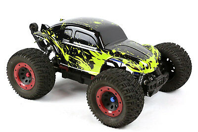 Custom Buggy Body Muddy Green For 1/8 RC Truck Thunder Tiger MT4 G3 HPI Savage • 21.44£