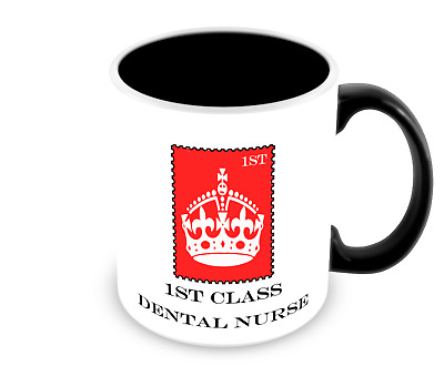 1st Class Dental Nurse Mug - Gift / Present / Novelty / Job Mug • 8.95£