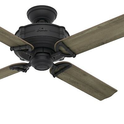 $124.95 • Buy Hunter Fan 52 Inch Traditional Natural Iron Ceiling Fan With Remote Control