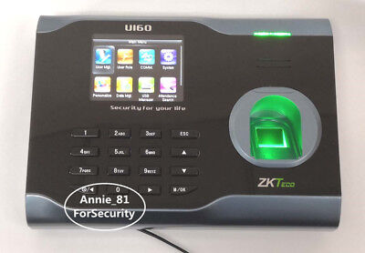 AU166 • Buy WiFI TCP/IP Fingerprint Time Attendance WiFi Fingerprint Time Recorder Clock