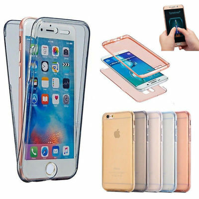 AU5.95 • Buy IPhone Xs Max XR 8 7 6 6s + 5s 360° Shockproof Protective Full Clear Case Cover