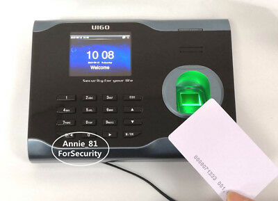 AU180 • Buy ZK WIFi EM Card & Fingerprint Time Attendance Fingerprint Time Clock Recorder