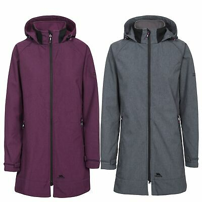 Trespass Maeve Womens Soft Shell Jacket With Hood Windproof And Breathable • 27.99£