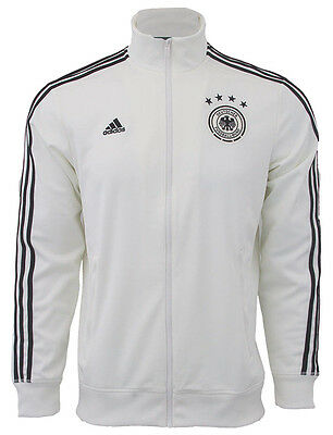 ADIDAS GERMANY EURO 2016 3-STRIPES TRACK TOP White/Black • 64.91£