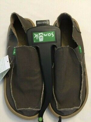NWT Sanuk Men's SMF1001 BNDL Vegabond Slip On Sidewalk Surfers Brindle Size 9  • 34.61£