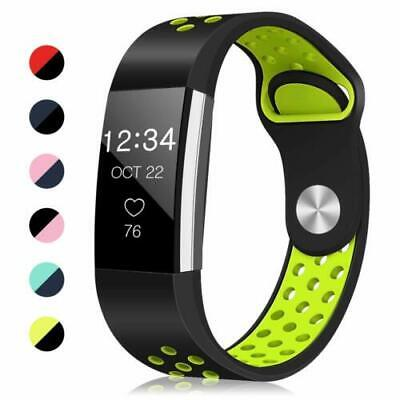 AU7.99 • Buy For Fitbit Charge 2 Bands, Soft Silicone Adjustable Replacement Sport Strap Band
