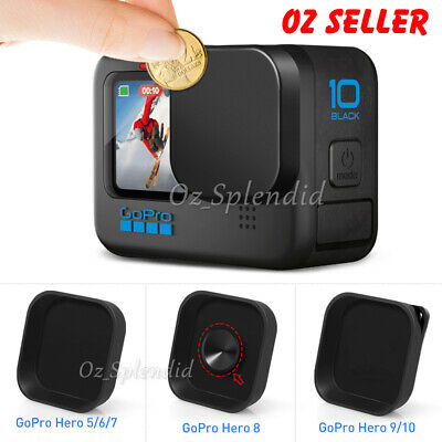 AU6.95 • Buy Protector Cover Lens Cap Black Action Camera Accessories For GoPro Hero 6 7 8 9