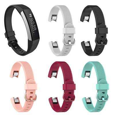 $ CDN4.71 • Buy Silicone Adjust Watch Band Bracelet Wrist Strap Replacement For Fitbit Alta HR