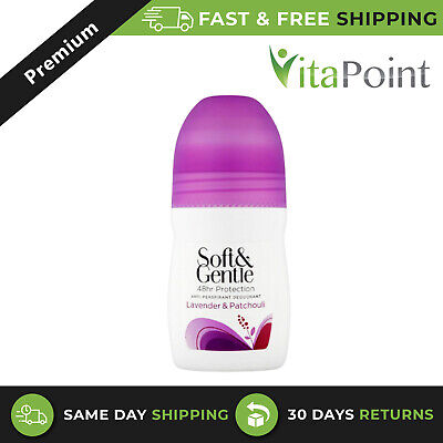 Soft & Gentle Lavender & Patchouli Anti-perspirant Deodorant Roll On - 50ml * • 3.81£