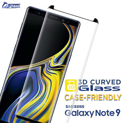 $ CDN5.72 • Buy 3D Case Friendly Tempered Glass Screen Protector For Samsung Galaxy Note 9 S9 S8