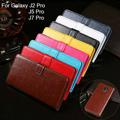 AU8.99 • Buy For Samsung Galaxy J2 J5 J7 Pro Premium Wallet Leather Case Flip Card Cover